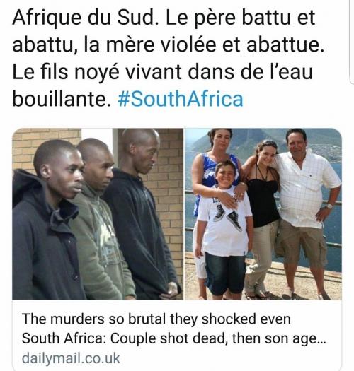 afrique du sud,blancs,génocide