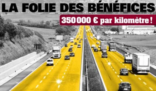 autoroutes,bénéfices