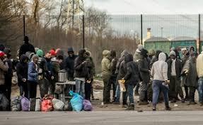 collectif aide aux migrants,porte de la chapelle,violence